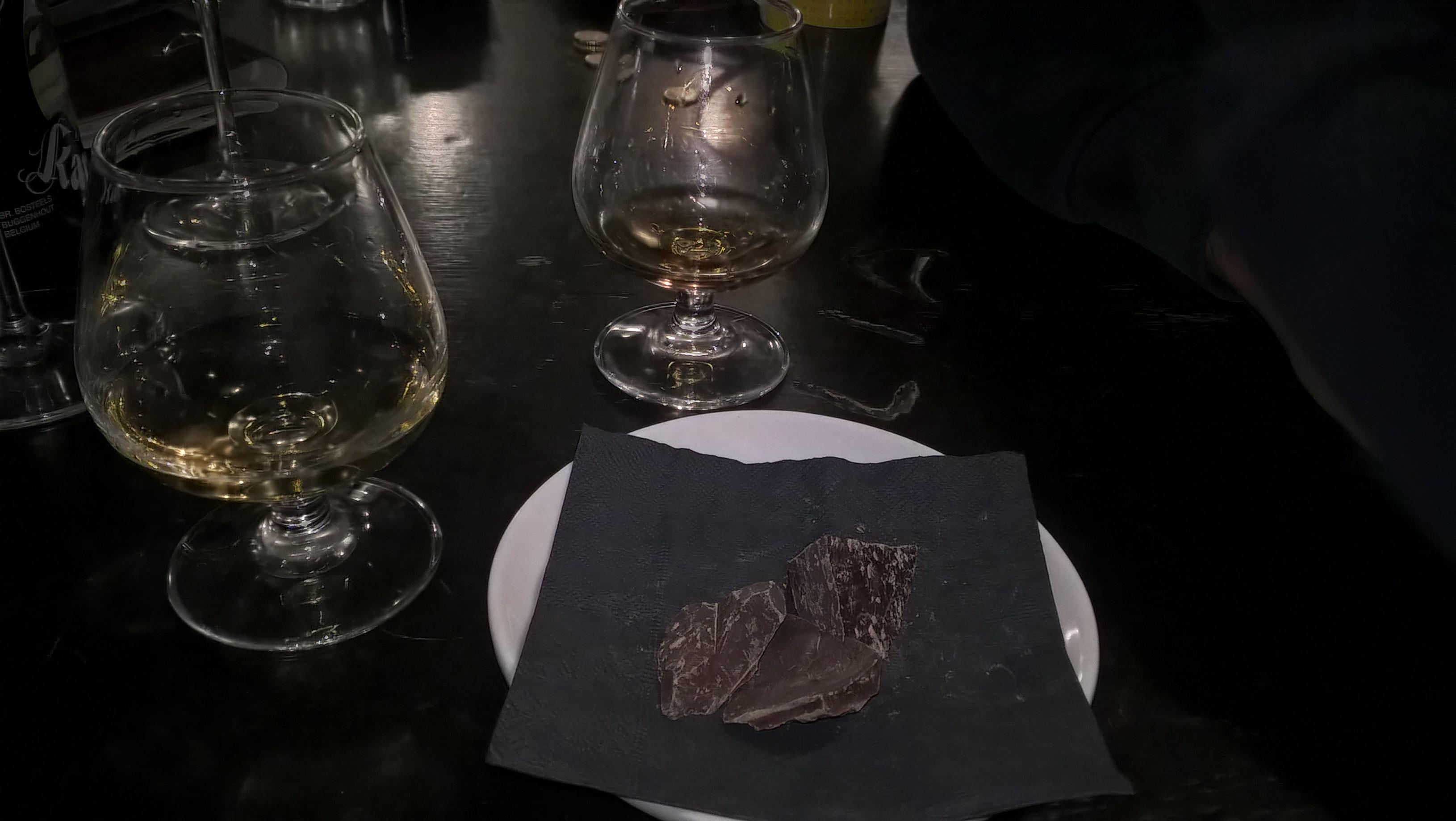 Whiskey e cioccolato