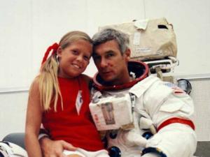 Tracy e Eugene Cernan