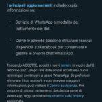 Nuovo aggiornamento della privacy su WhatsApp (aggiornato 16 gennaio 2021)